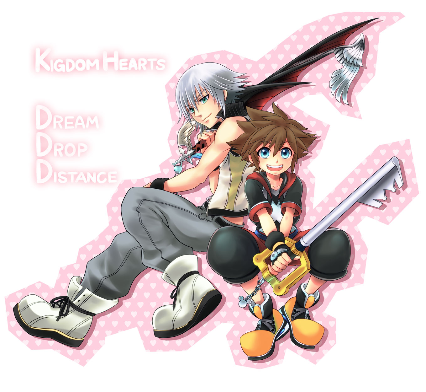 Kingdom Hearts 3D  Dream Drop Distance  1050226 - ZerochanKingdom Hearts Dream Drop Distance Riku Keyblades