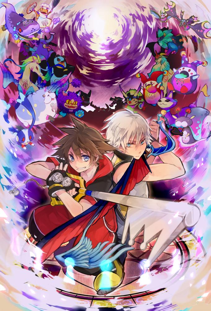Kingdom Hearts 3d Dream Drop Distance Mobile Wallpaper 1049467
