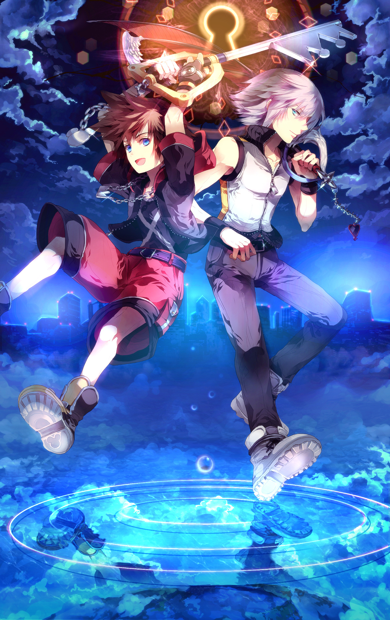 Kingdom Hearts 3d Dream Drop Distance Mobile Wallpaper