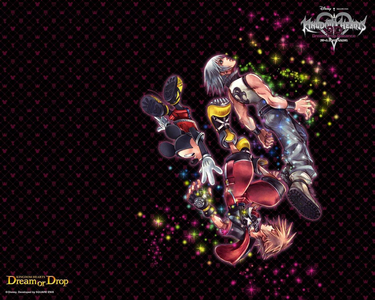 Kingdom Hearts 3d Dream Drop Distance Wallpaper Zerochan Anime
