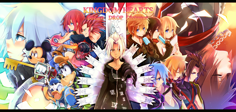 Kingdom Hearts 3d Dream Drop Distance Zerochan Anime Image Board