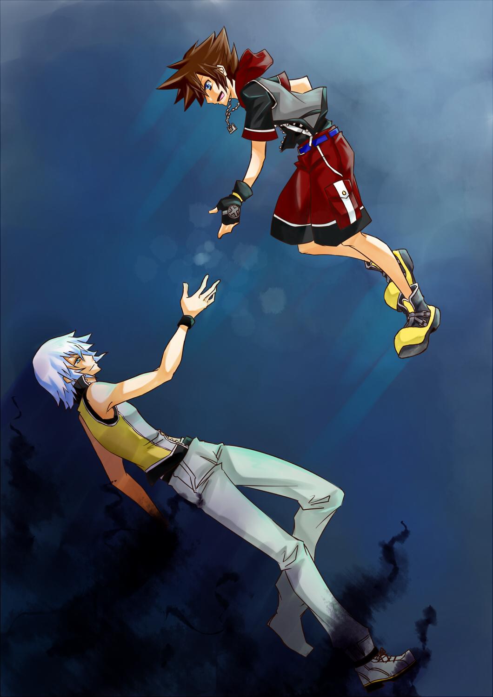 Kingdom Hearts 3d Dream Drop Distance Mobile Wallpaper 772277