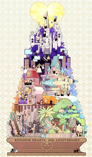 Tags: Anime, Nashicco, Disney, Final Fantasy X, Kingdom Hearts 3D: Dream Drop Distance, Final Fantasy VII, Final Fantasy VIII