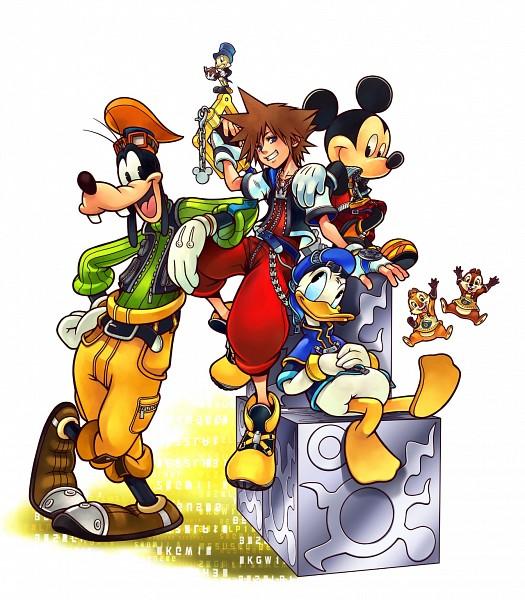 Tags: Anime, Nomura Tetsuya, Disney, SQUARE ENIX, Kingdom Hearts, Mickey Mouse, Goofy