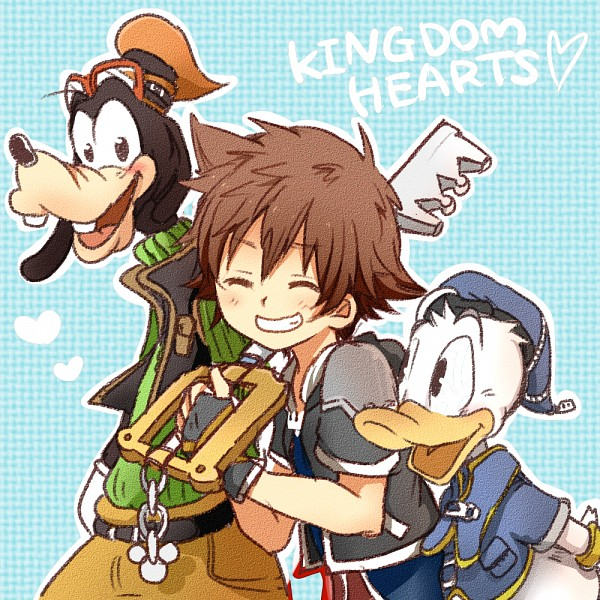 Goofy And Donald Anime Version: Kingdom Hearts/#1713536
