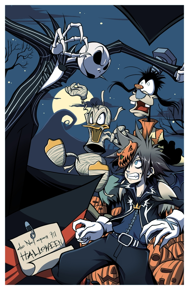 Nightmare Before Christmas Sora.Kingdom Hearts Ii Mobile Wallpaper 1199164 Zerochan Anime