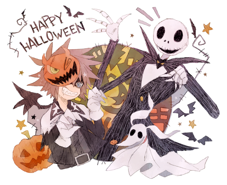 Nightmare Before Christmas Sora.Kingdom Hearts Ii Image 1792620 Zerochan Anime Image Board