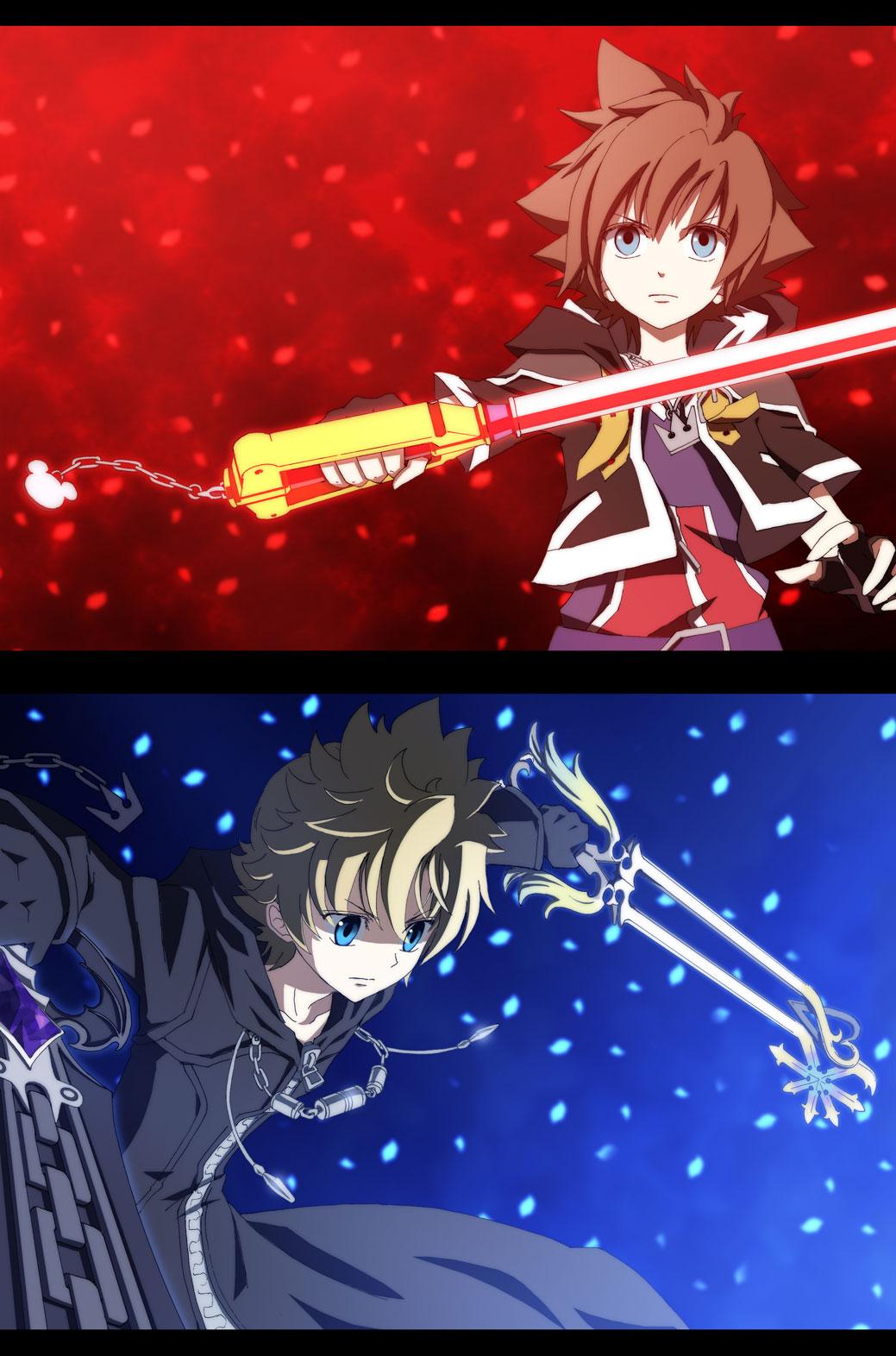 Kingdom Hearts Ii Mobile Wallpaper 312091 Zerochan Anime Image Board