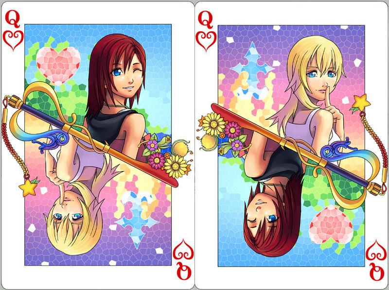 Kingdom Hearts Namine And Kairi Anime Kingdom Hearts ...