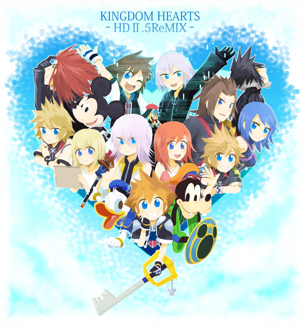 Kingdom Hearts Namine And Kairi Anime Kingdom Hearts Series/...