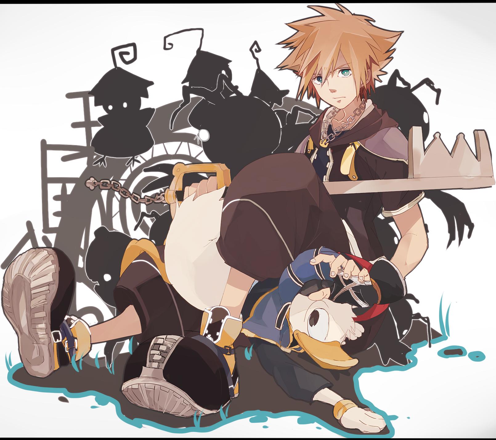 Tags Anime Fanart Kingdom Hearts Sora Pixiv: Kingdom Hearts Image #1258677