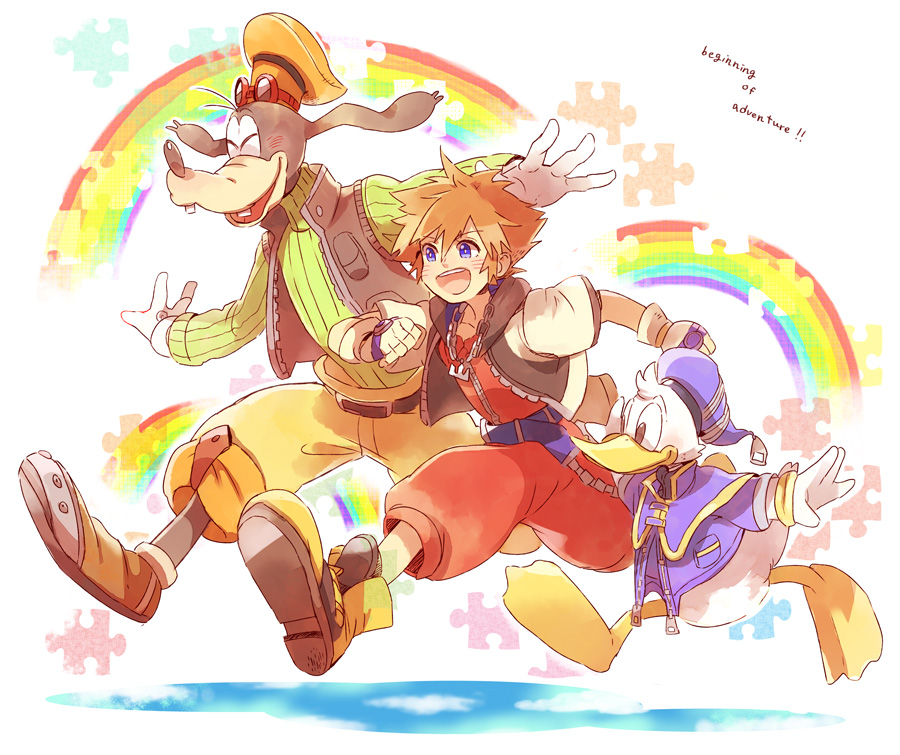 Goofy And Donald Anime Version: Kingdom Hearts/#1875583