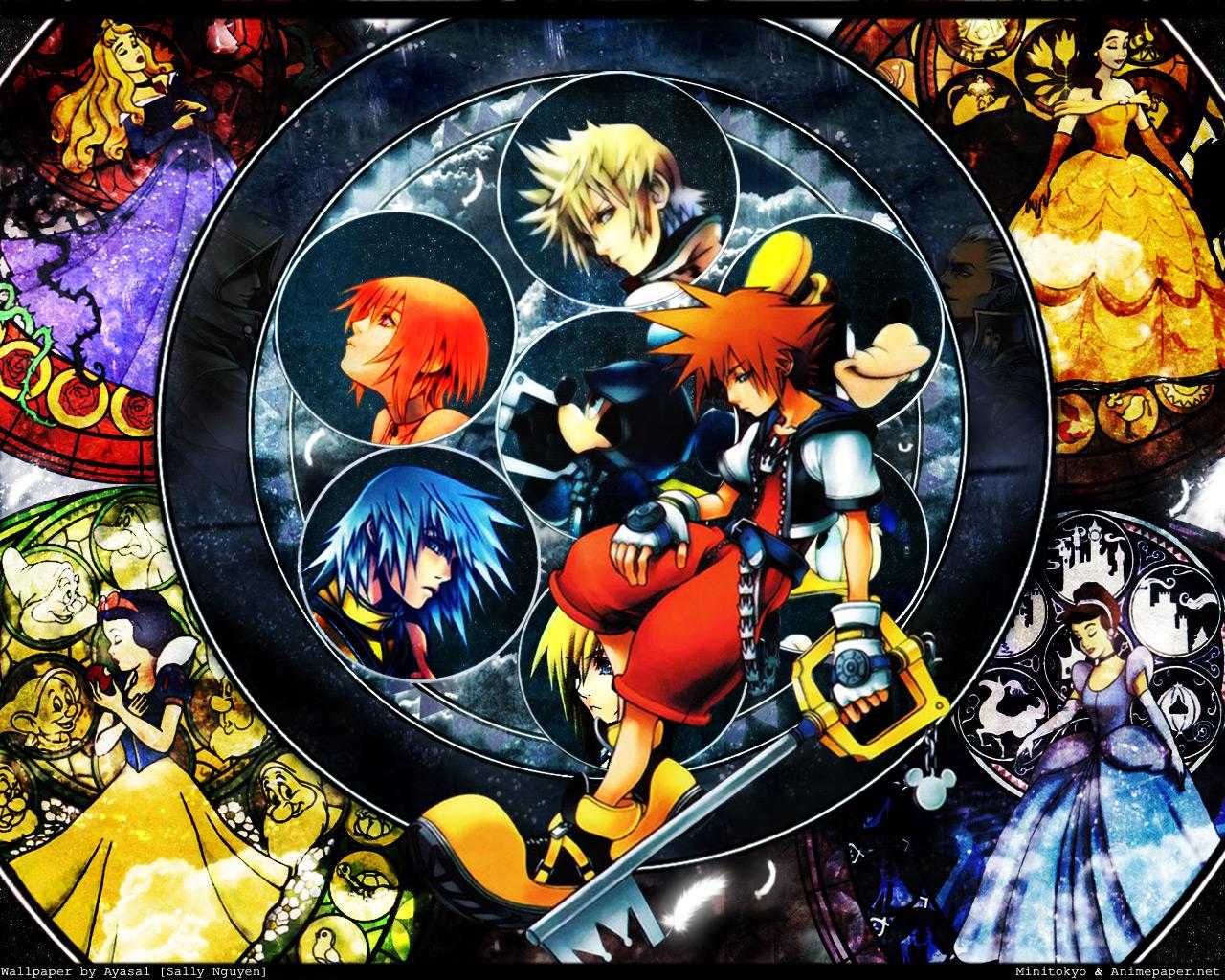 Kingdom hearts wallpaper zerochan anime image board - Kingdom hearts wallpaper ...