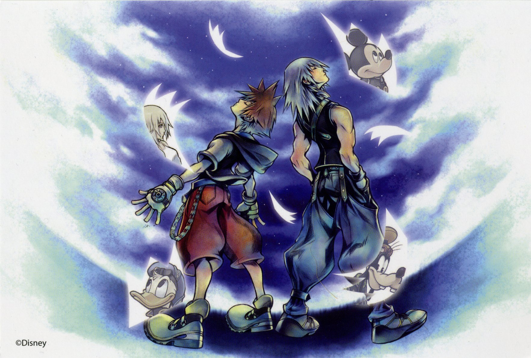 Kingdom Hearts Chain Of Memories Zerochan Anime Image Board