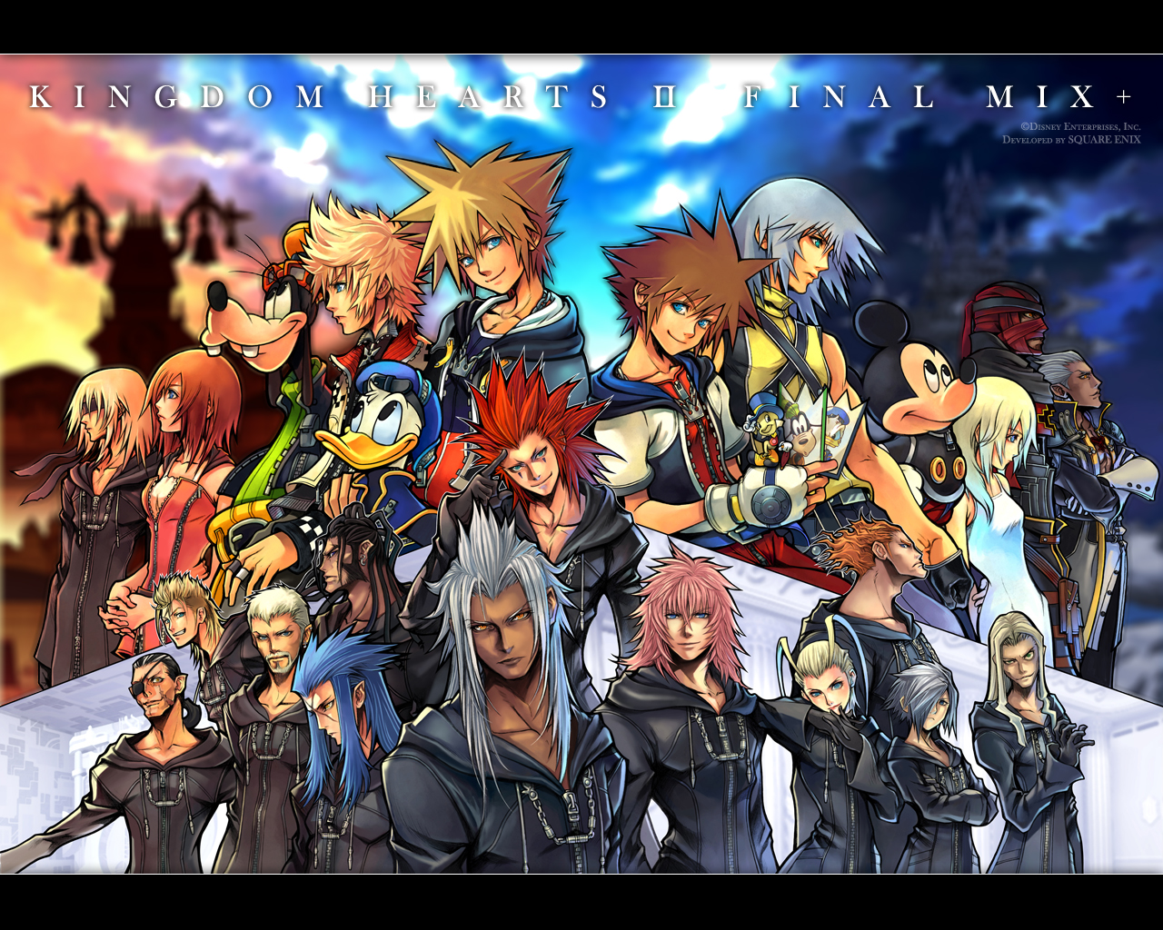 wallpaper kingdom hearts