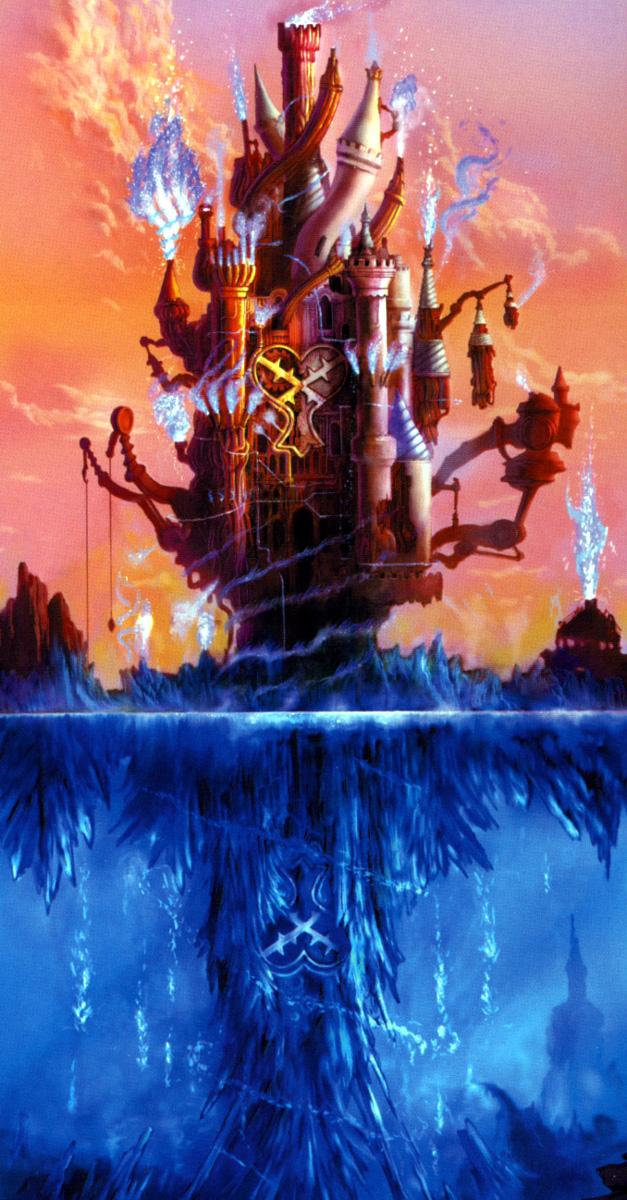 Tags: Anime, SQUARE ENIX, Kingdom Hearts, Hollow Bastion