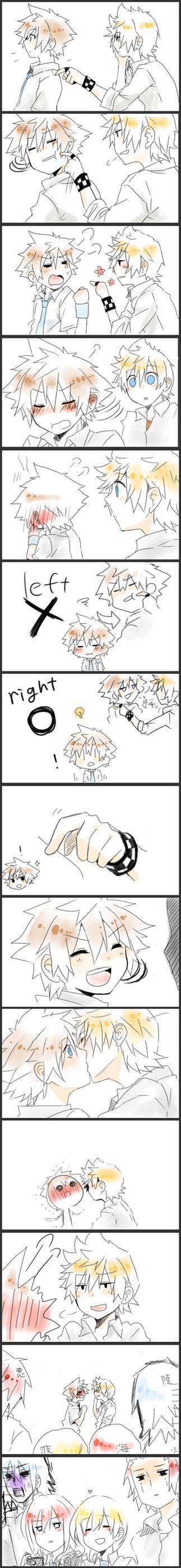 Tags: Anime, Kingdom Hearts, Kingdom Hearts 358/2 Days, Kingdom Hearts II, Riku (Kingdom Hearts), Sora (Kingdom Hearts), Roxas, Naminé, Axel (Kingdom Hearts), Kairi (Kingdom Hearts), Organization XIII