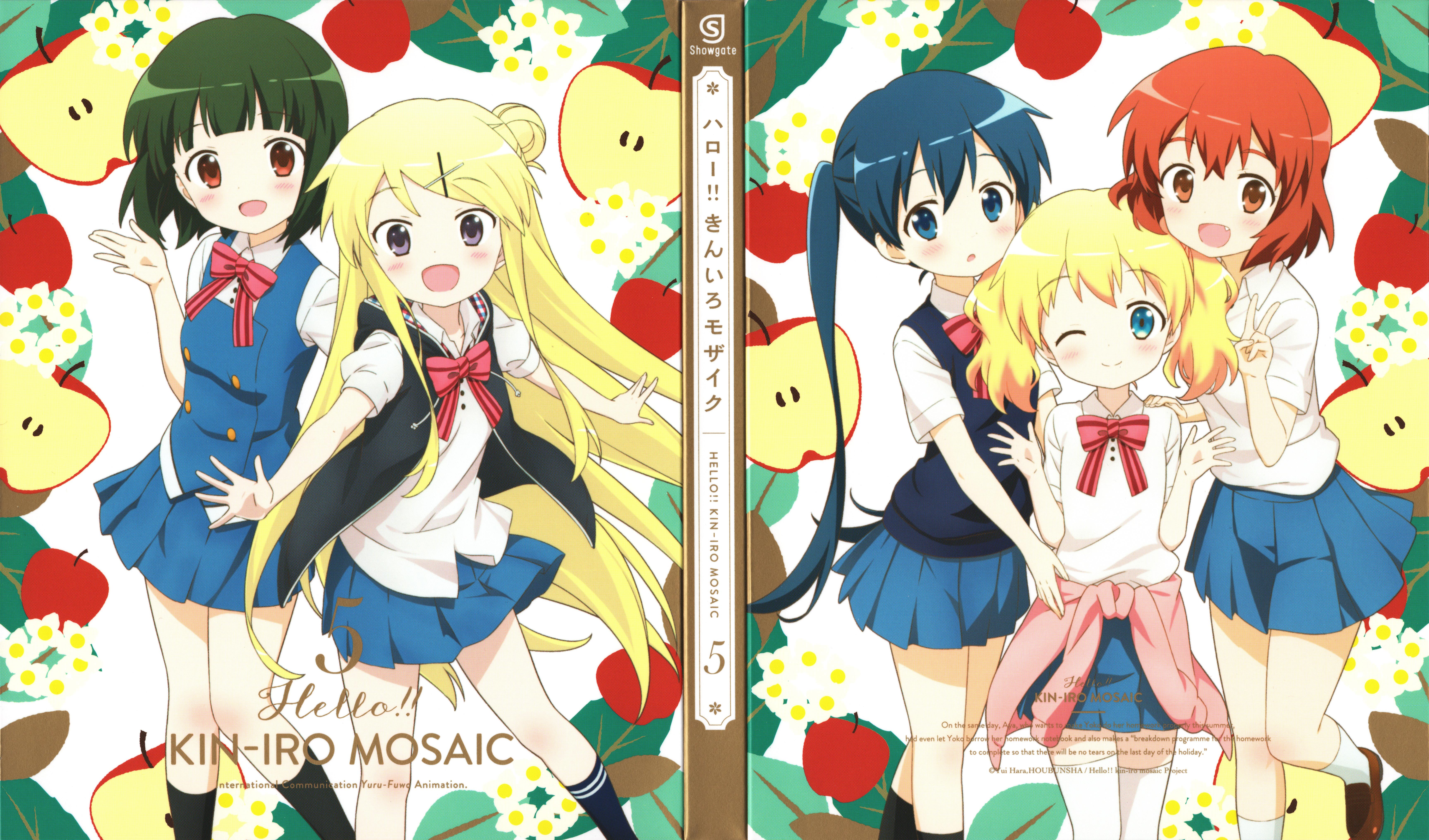 Kiniro Mosaic (Yellow Mosaic) Wallpaper #1950268 - Zerochan Anime ...