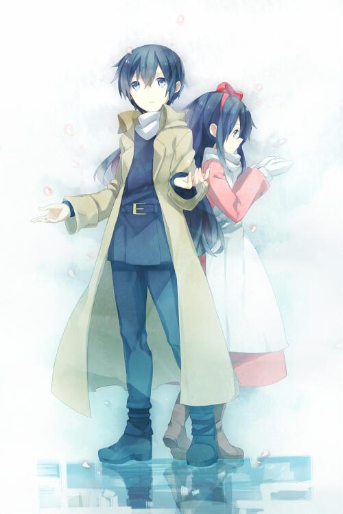 Tags: Anime, Asahikawa Hiyori, Kino no Tabi, Kino (Kino no Tabi), Mobile Wallpaper