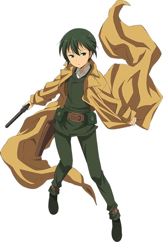 Tags: Anime, Amisaki Ryouko, Lerche, Kino no Tabi: The Beautiful World - The Animated Series, Kino no Tabi, Kino (Kino no Tabi), Cover Image, PNG Conversion