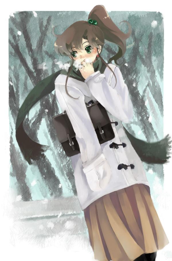 Tags: Anime, Nako (Nonrain), Bishoujo Senshi Sailor Moon, Kino Makoto, Fanart, Pixiv, Mobile Wallpaper