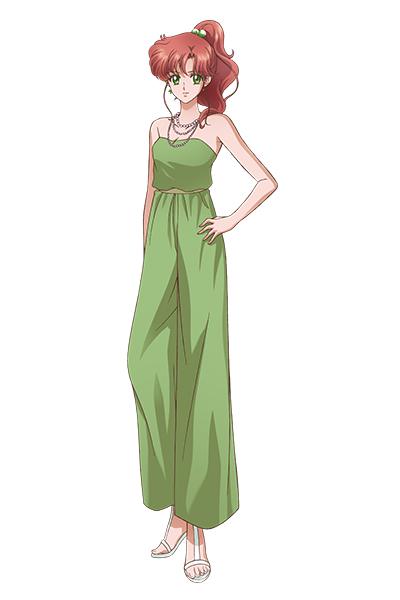 Tags: Anime, Sakou Yukie, Toei Animation, Bishoujo Senshi Sailor Moon, Kino Makoto, Official Art, Requested Upload, Mobile Wallpaper