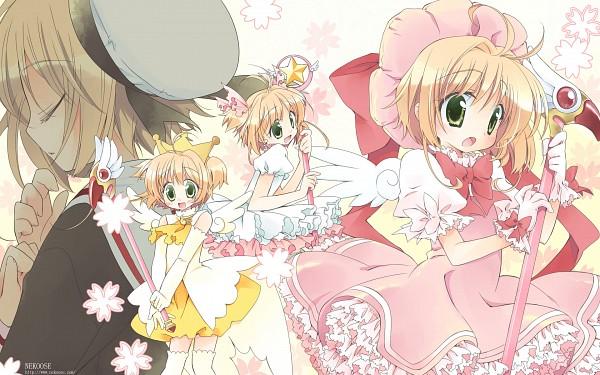 Tags: Anime, Cardcaptor Sakura, Kinomoto Sakura, Cherry Blossom, Pink Dress, Pink Outfit, Petticoats