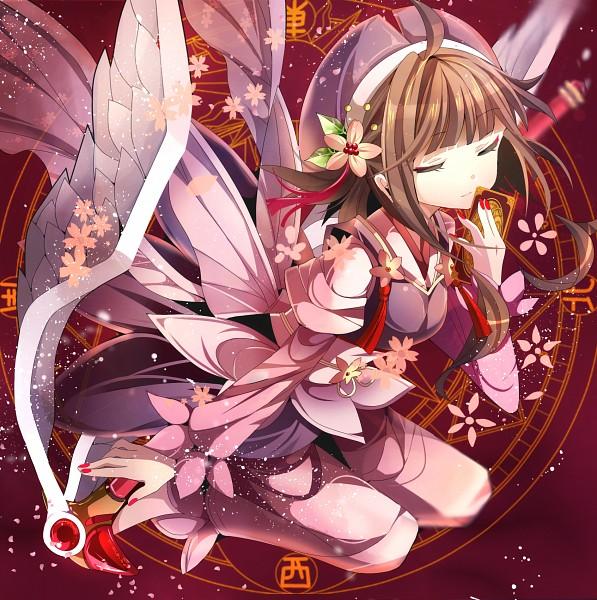 Tags: Anime, Cardcaptor Sakura, Kinomoto Sakura, Clow Cards, Miruyuana, Sealing Wand, Sealing Wand (Dormant Form)