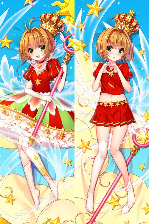 Tags: Anime, Pixiv Id 19038908, Cardcaptor Sakura, Kinomoto Sakura, Sealing Wand (Star Form), Star Wand, Pixiv, Mobile Wallpaper, Dakimakura, Fanart From Pixiv, Fanart