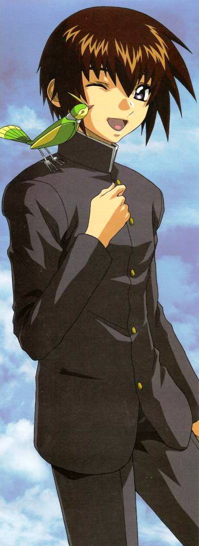 Tags: Anime, Mobile Suit Gundam SEED, Kira Yamato, Official Art