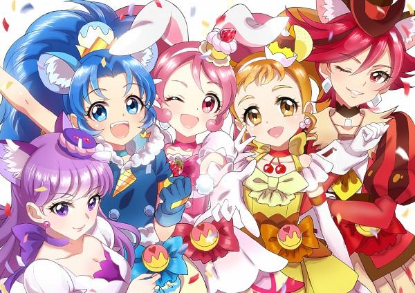 Tags: Anime, Xing, Kirakira☆Precure a la Mode, Cure Chocolat, Arisugawa Himari, Cure Macaron, Usami Ichika