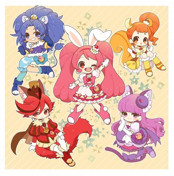 Tags: Anime, Mohukichi224, Kirakira☆Precure a la Mode, Kenjou Akira, Cure Whip, Tategami Aoi, Cure Chocolat