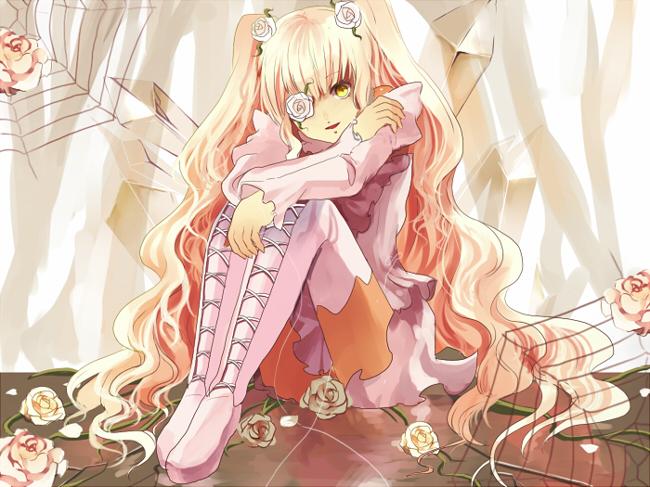 Tags: Anime, Ouri, Rozen Maiden, Kirakishou, Pixiv, Fanart From Pixiv, Fanart