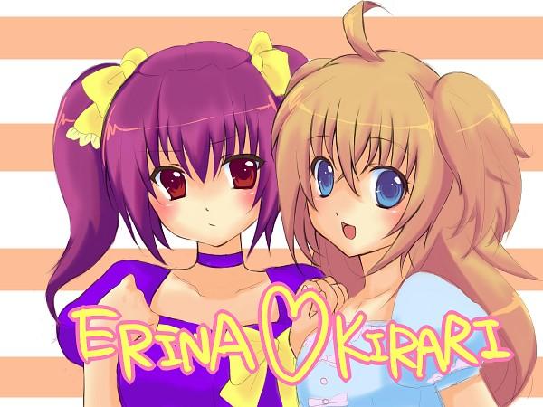 Tags: Anime, Kirarin Revolution, Tsukishima Kirari, Ogura Erina, Yellow Bow, Pixiv Id 1576970