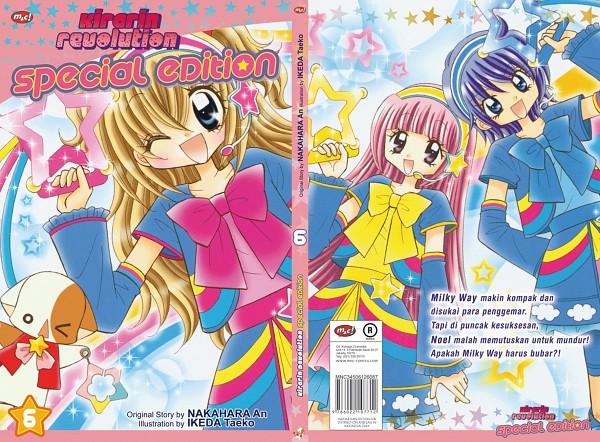 Tags: Anime, Kirarin Revolution, Tsukishima Kirari, Naa-san, Yukino Noel, Cobeni Hanasaki, Blue Bow