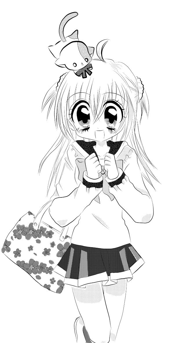 Tags: Anime, Kirarin Revolution, Tsukishima Kirari, Naa-san, Nakahara An