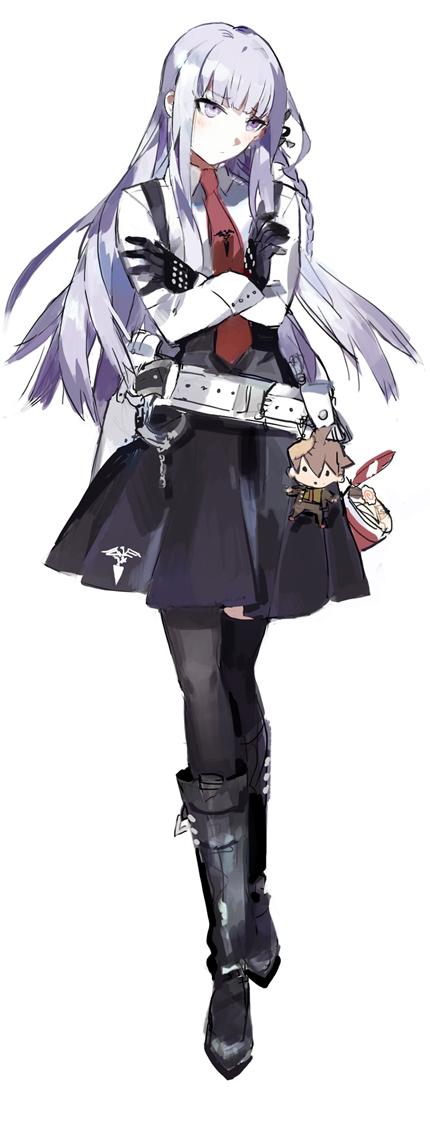 Tags: Anime, STAR Shadow Magician, Danganronpa, Naegi Makoto, Kirigiri Kyouko