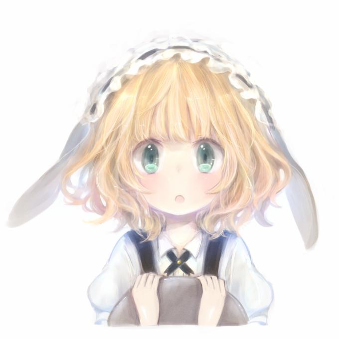 Tags: Anime, Milkuro, Gochuumon wa Usagi Desu ka, Kirima Sharo, Fanart, PNG Conversion, Pixiv