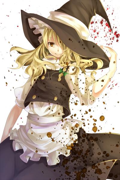 Tags: Anime, Silentdin, Touhou, Kirisame Marisa, Fanart From Pixiv, Pixiv, Mobile Wallpaper, Fanart, Marisa Kirisame