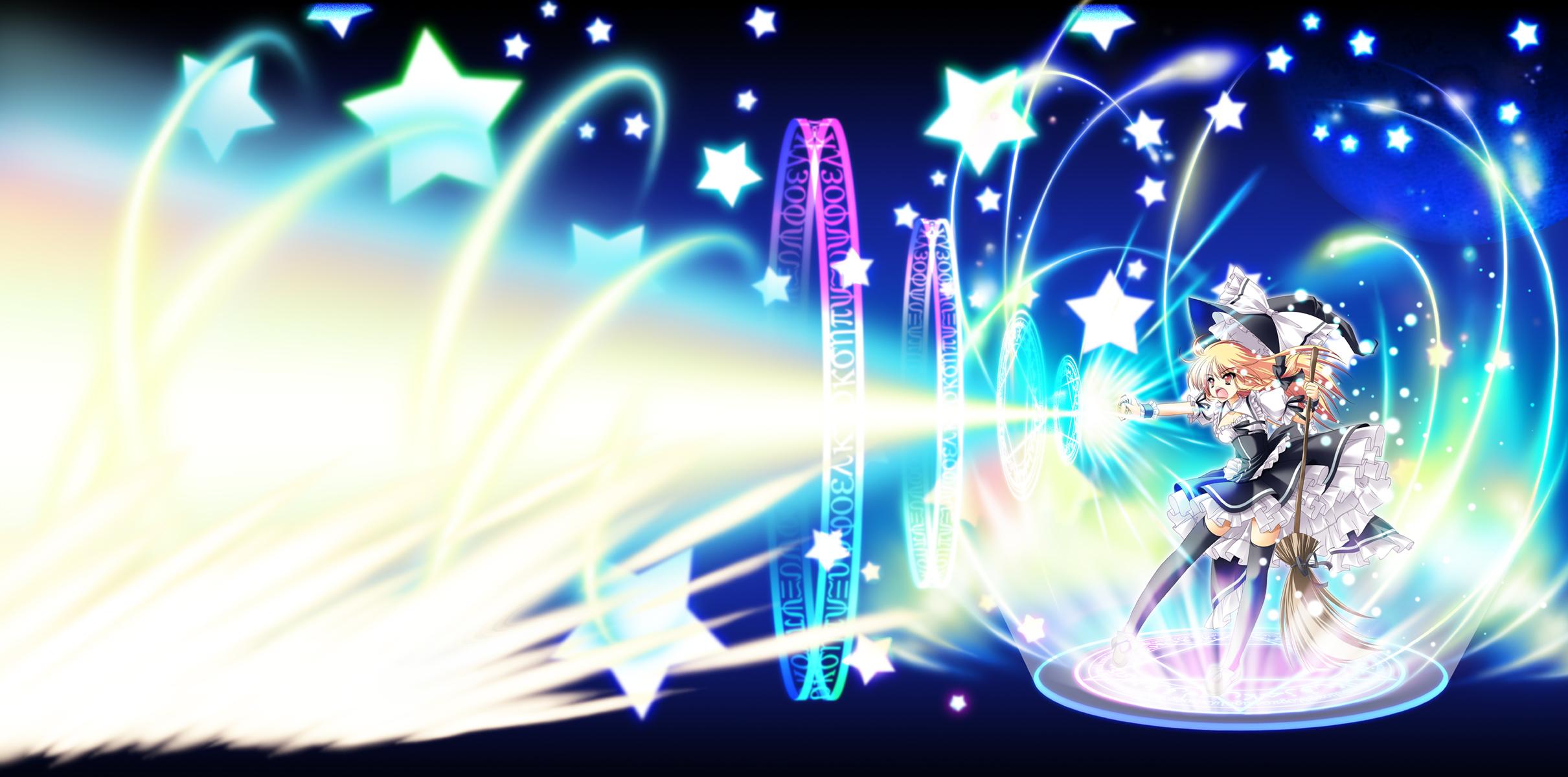 Master spark touhou zerochan anime image board - Download anime wallpaper pack ...