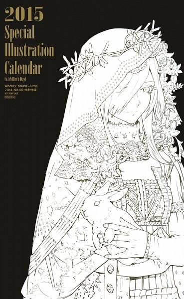 Special Illustration Calendar Tokyo Ghoul : Kirishima touka zerochan