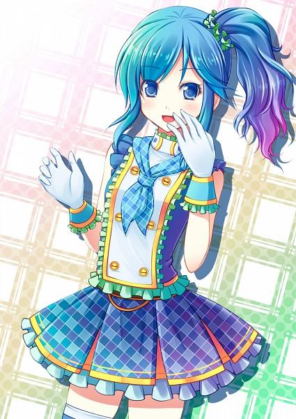 Tags: Anime, Shushio, Blue Skirt, Aikatsu!, Kiriya Aoi
