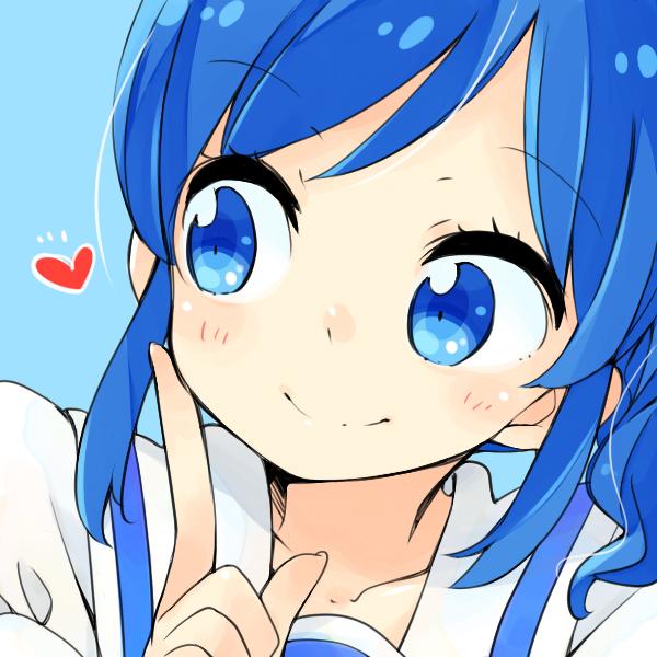 Tags: Anime, Ms, Aikatsu!, Kiriya Aoi, Finger On Cheek, Fanart, Fanart From Pixiv, Pixiv
