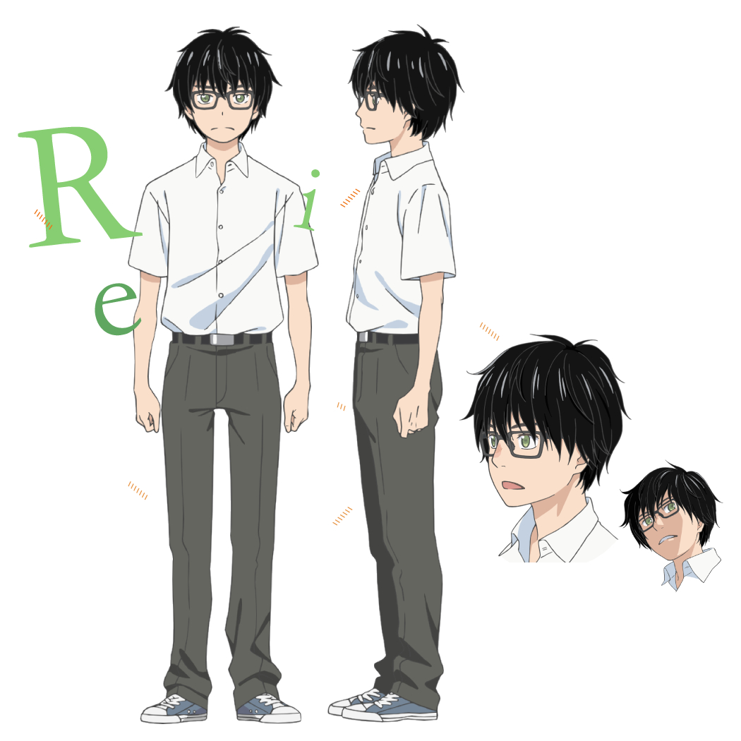 Rei Kiriyama (3-gatsu no Lion meets Bump of Chicken) - MyAnimeList.net