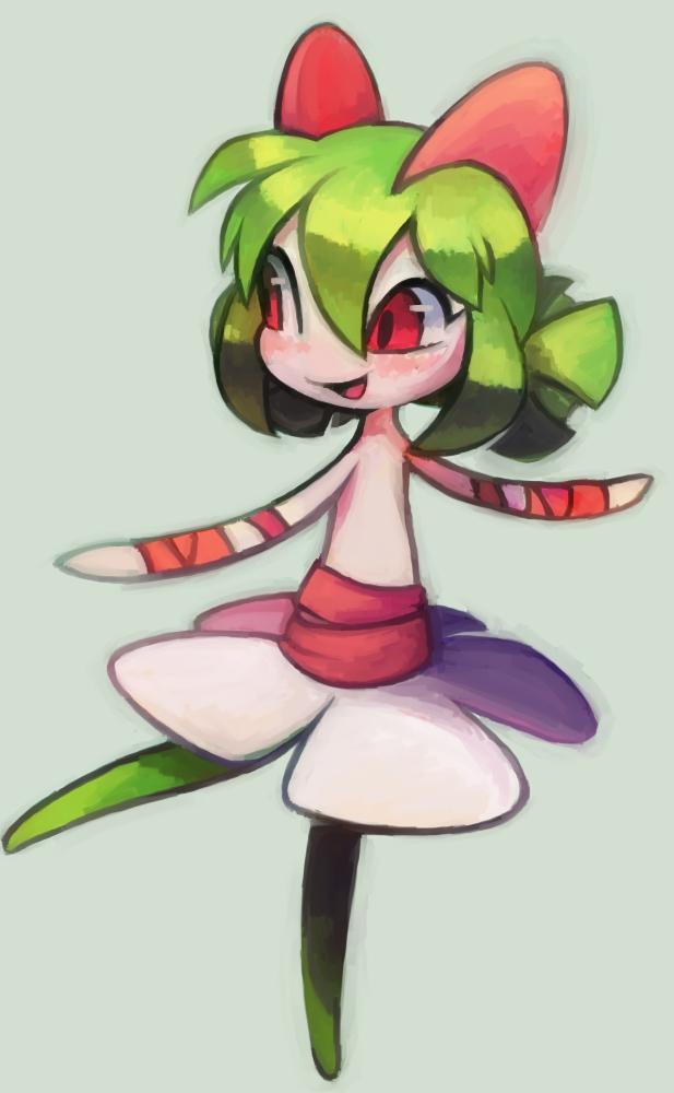 Tags: Anime, Extyrannomon, Pokémon, Kirlia, Fanart From DeviantART, deviantART, Fanart