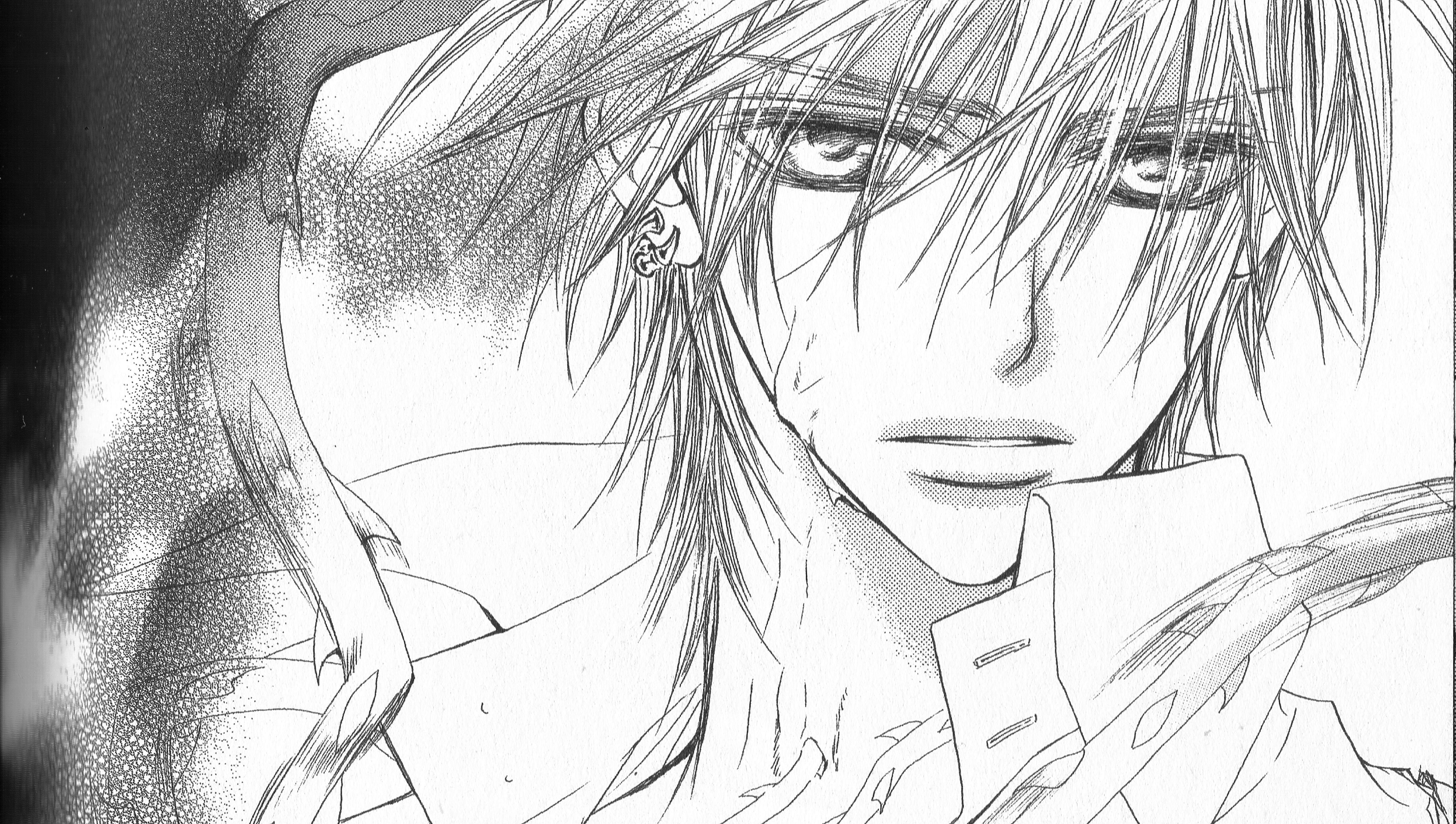 Vampire knight manga zero