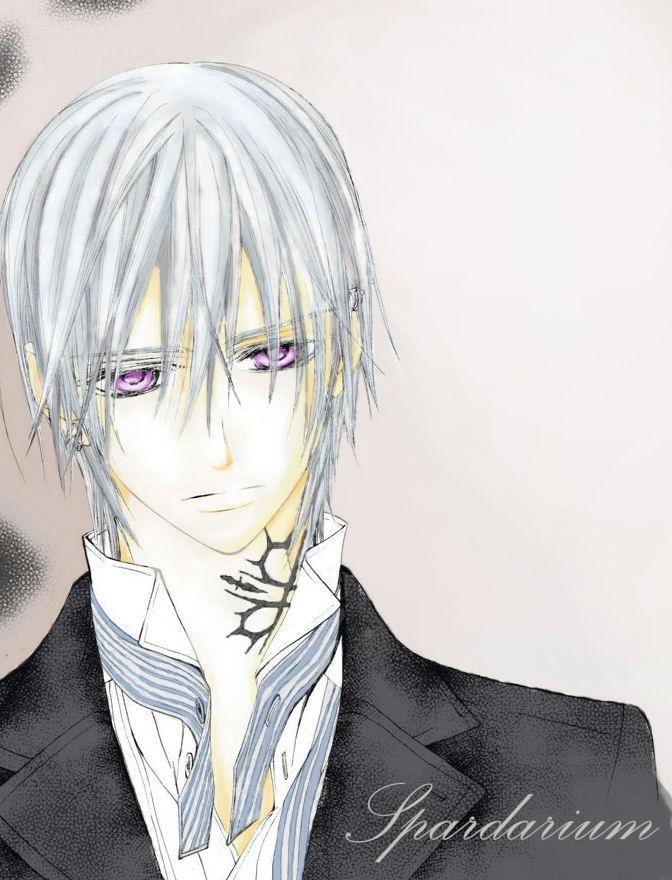 Tags: Anime, Vampire Knight, Kiryuu Zero, Colorization