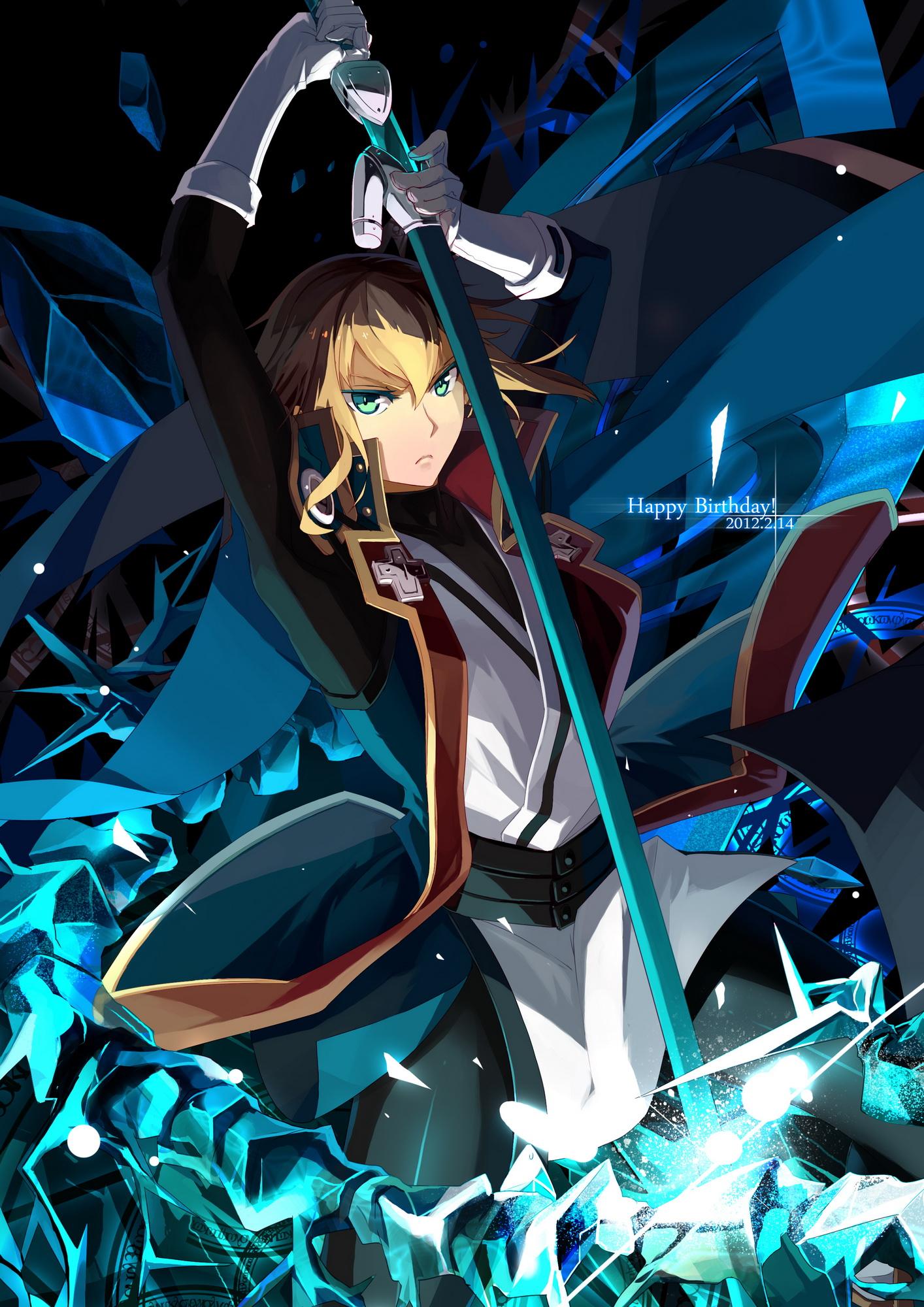 Kisaragi Jin Blazblue Zerochan Anime Image Board