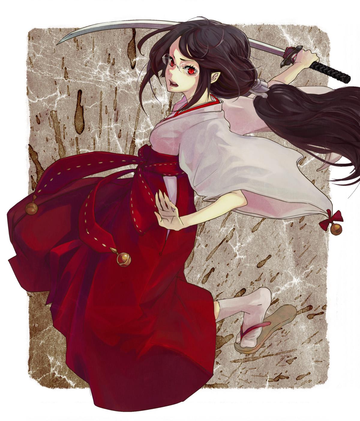 Картинки аниме кровь-с