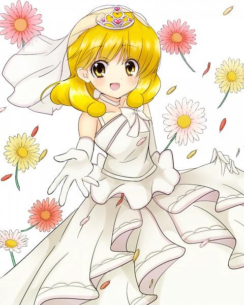 Tags: Anime, Pixiv Id 1746459, Smile Precure!, Kise Yayoi, Veil, Wedding Dress, White Bow